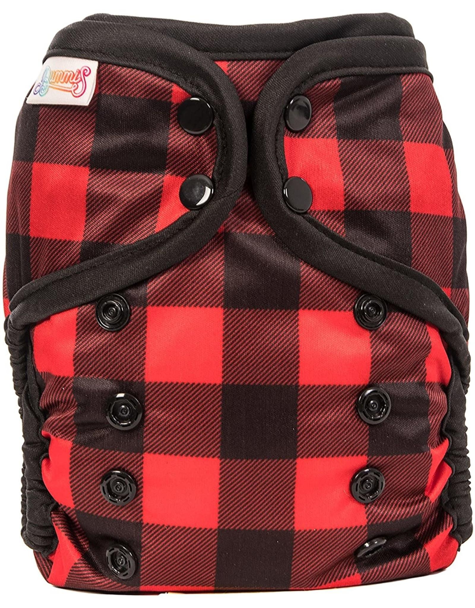 Bummis All-in-One Pure Diaper Lumberjack