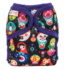Bummis All-in-One Pure Diaper Russian Dolls