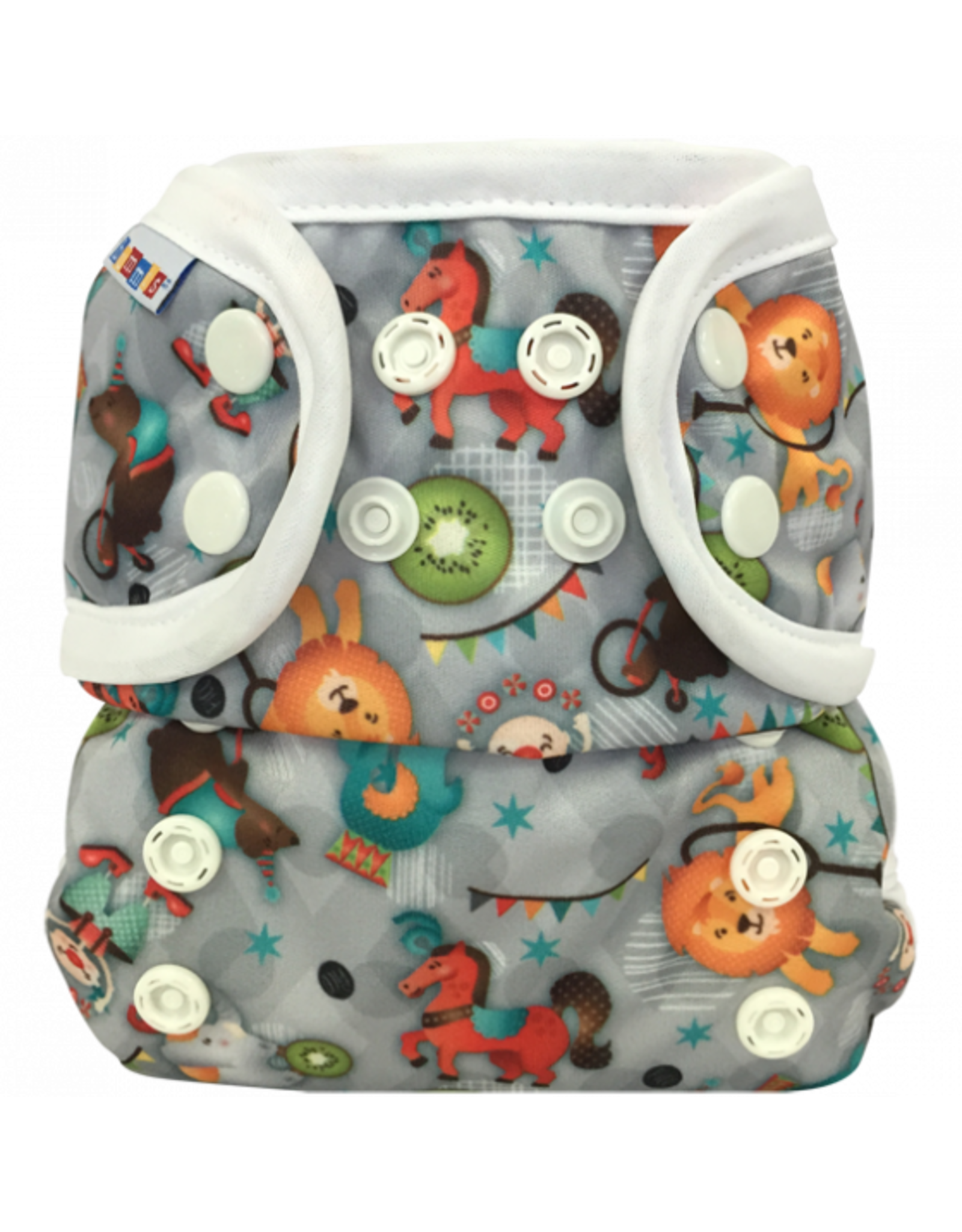 Bummis All-in-One Pure Diaper Circus