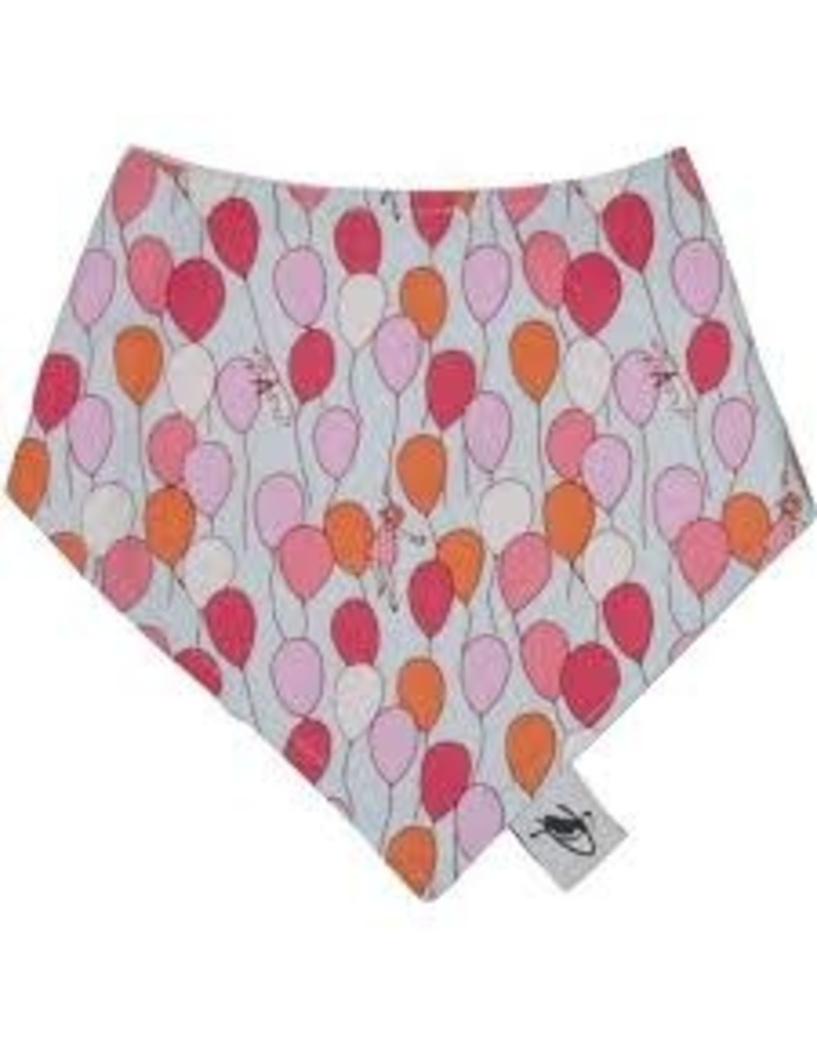 Puffin Gear Cotton Drool Bib, Balloons