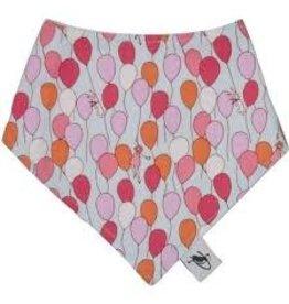 Puffin Gear Cotton Drool Bib, Balloons