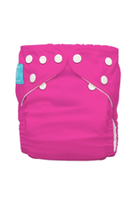 Charlie Banana One Size Diaper with 2 Inserts Hot Pink