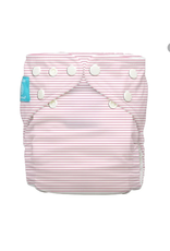 Charlie Banana One Size Diaper with 2 Inserts Pink Stripes