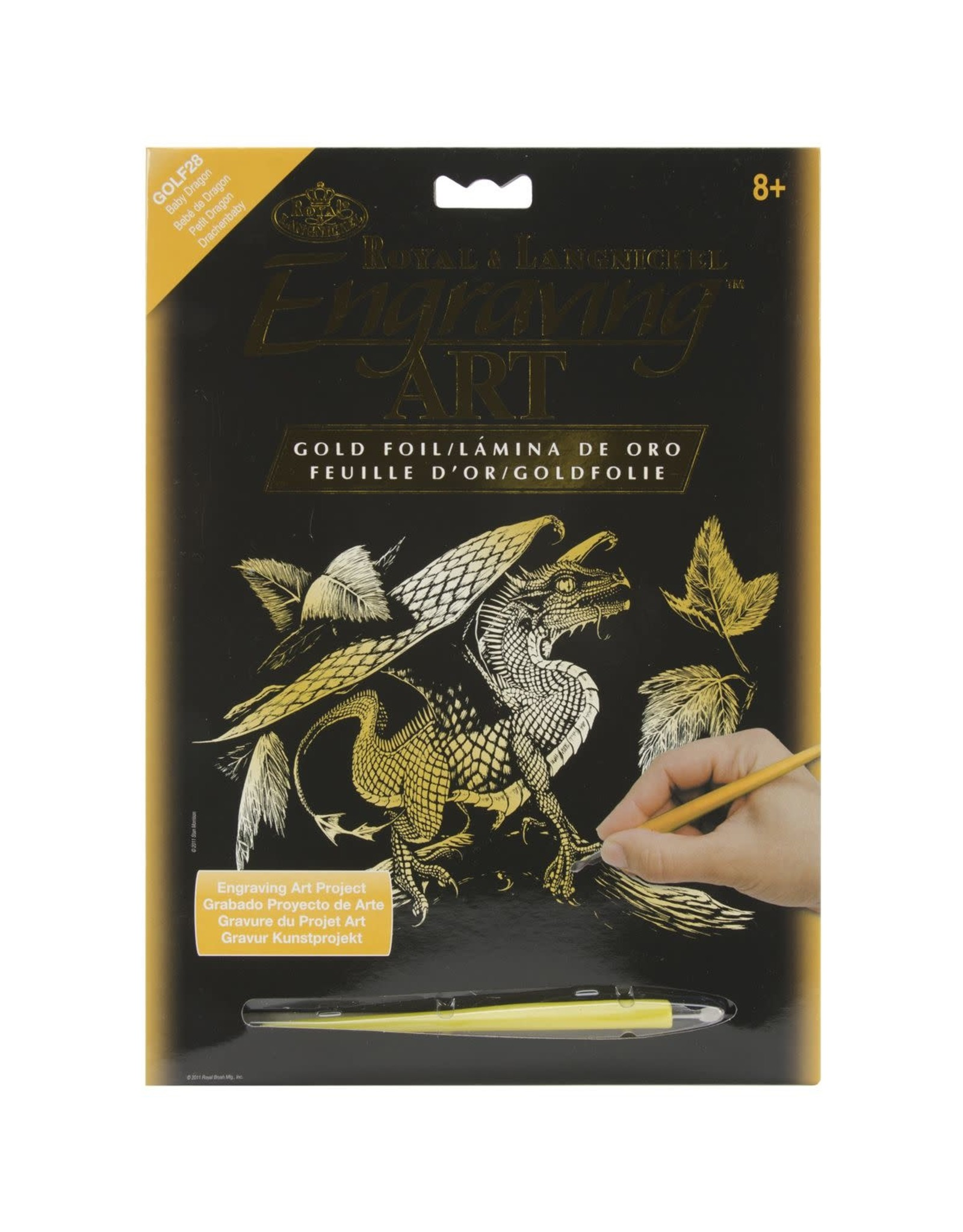 Royal and Langnickel Engraving Art, Baby Dragon