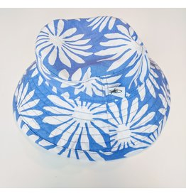 Puffin Gear Sunbaby Hat, Blue Daisy, 6-12 months