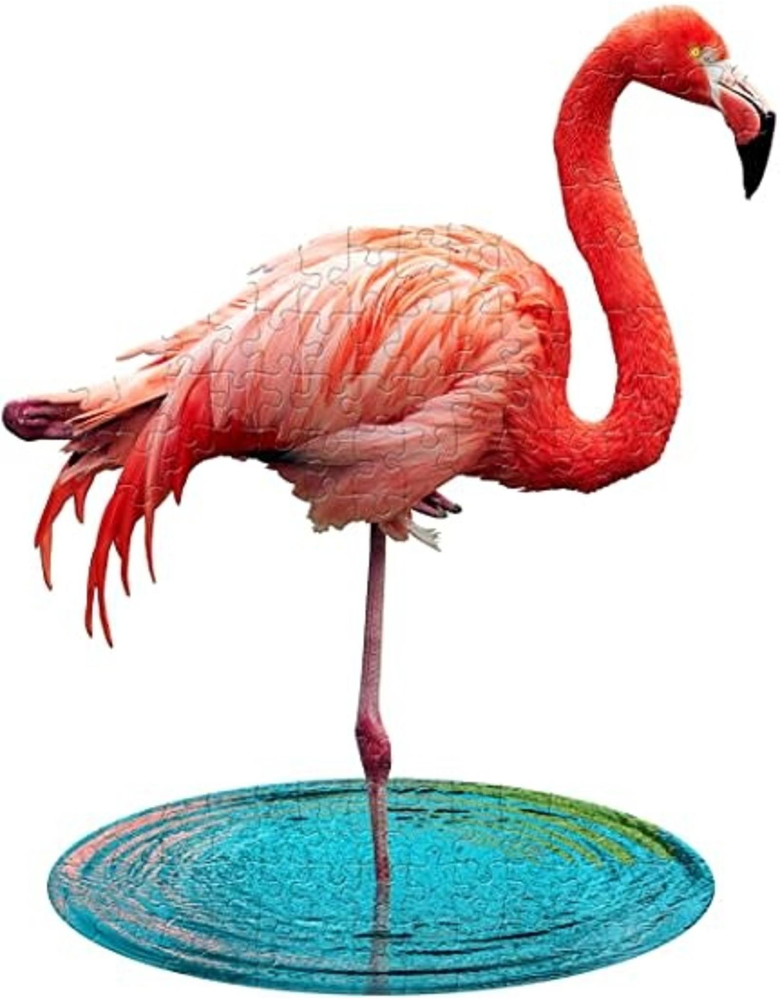 Madd Capp 100 pcs. I Am Lil Flamingo Shaped Puzzle