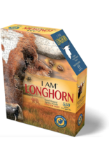 Madd Capp 550 pcs. I Am Longhorn Shaped Puzzle