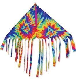 Premier Kites Delta Fringe Kite, Tie Dye