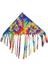 """Premier Kites 24""""Fringe Delta Kite, Tie Dye"""