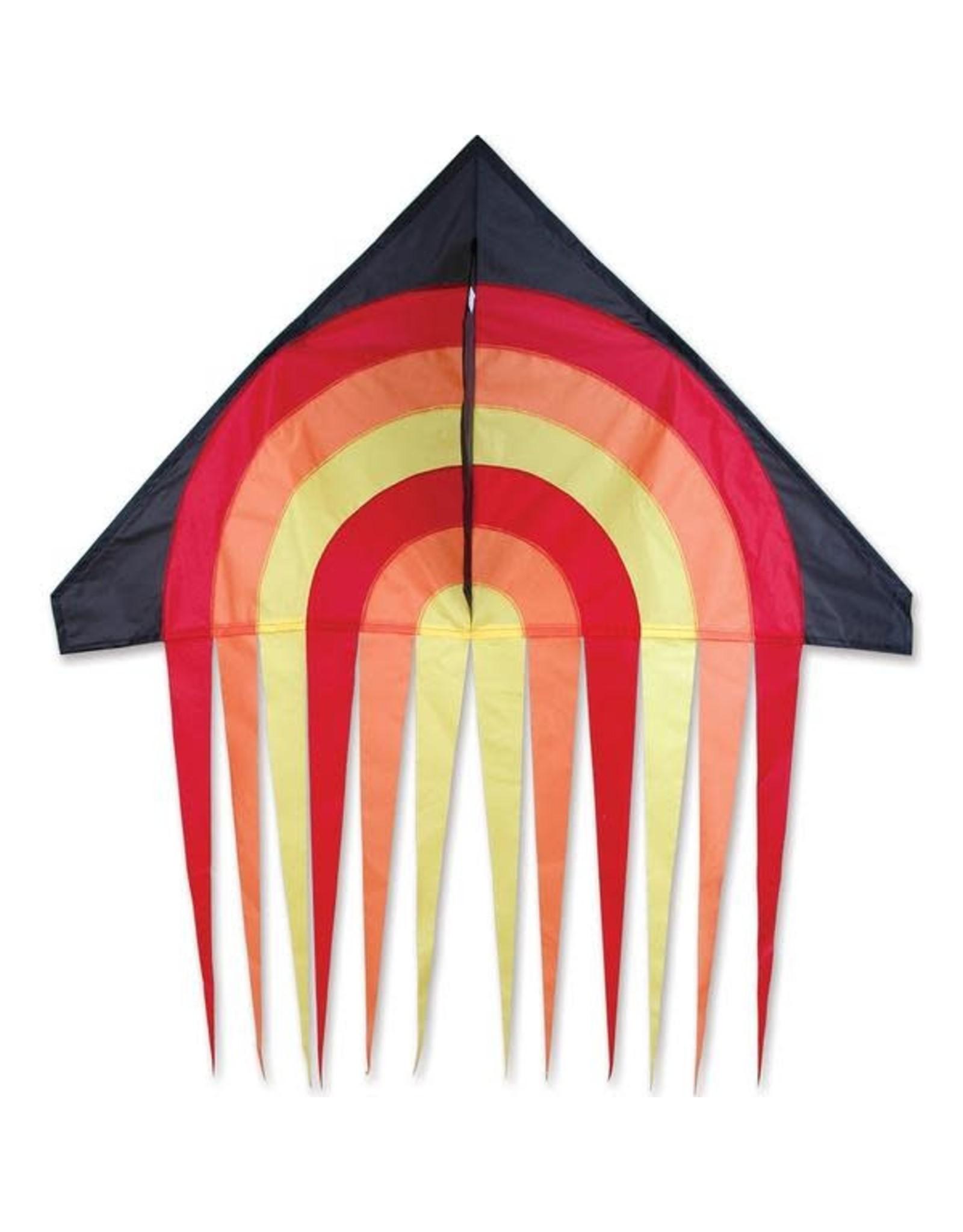 "Premier Kites 56"" Stream Delta Kite, Fire"