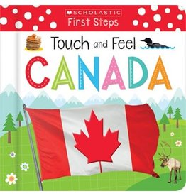 Scholastic Canada Touch and Feel Canada (BB)