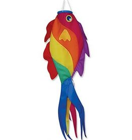 "Premier Kites 52"" Rainbow Wrasse Windsock"