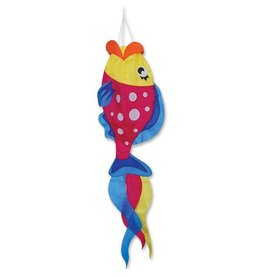 "Premier Kites 52"" Parrot Fish Windsock"
