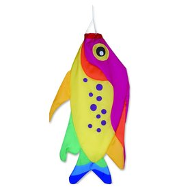 "Premier Kites 46"" Rainbow Damsel Fish Windsock"