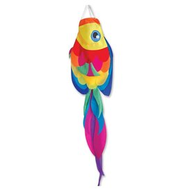 "Premier Kites 52"" Rainbow Tang Fish Windsock"