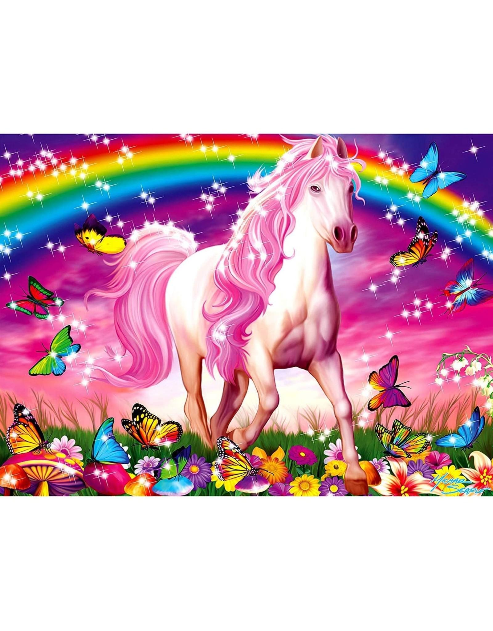 Ravensburger 100 pcs. Glitter Horse Dream  XXL Puzzle
