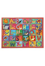 Eeboo 20 pcs. Animal Alphabet Puzzle