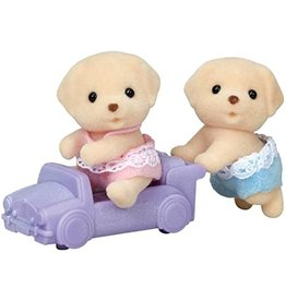 Calico Critters Calico Critter Yellow Lab Twins