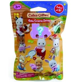 Calico Critters Calico Critters Baby Collectibles, Baby Camping Series