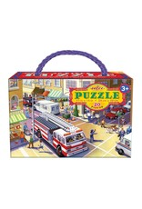 Eeboo 20 pcs. Fire Truck Puzzle