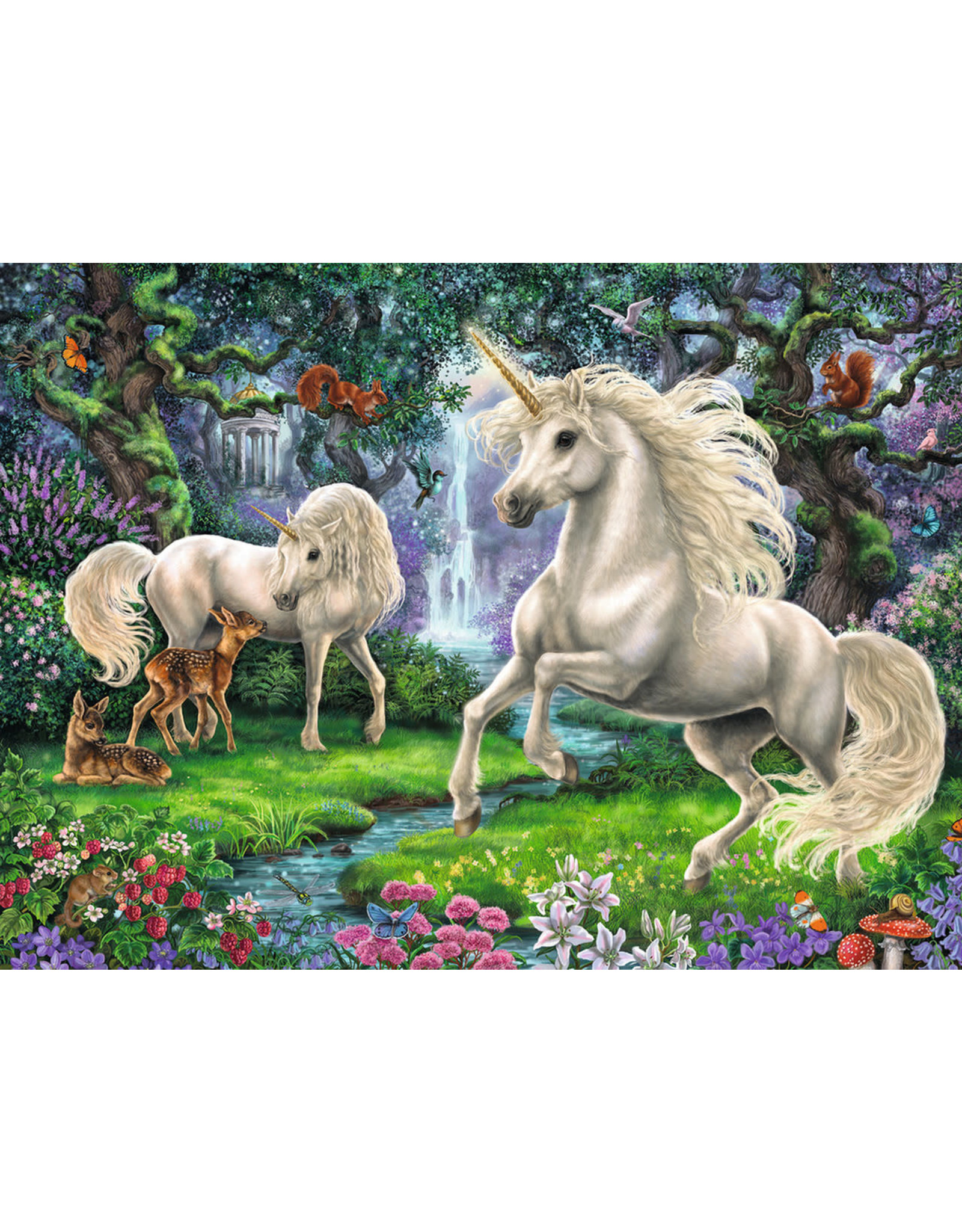 Ravensburger 200 pcs. Mystical Unicorns Puzzle