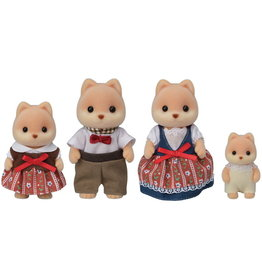 Calico Critters Calico Critters Caramel Dog Family