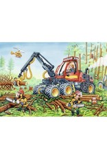 Ravensburger 2x24 pcs. Diggers At Work Puzzle