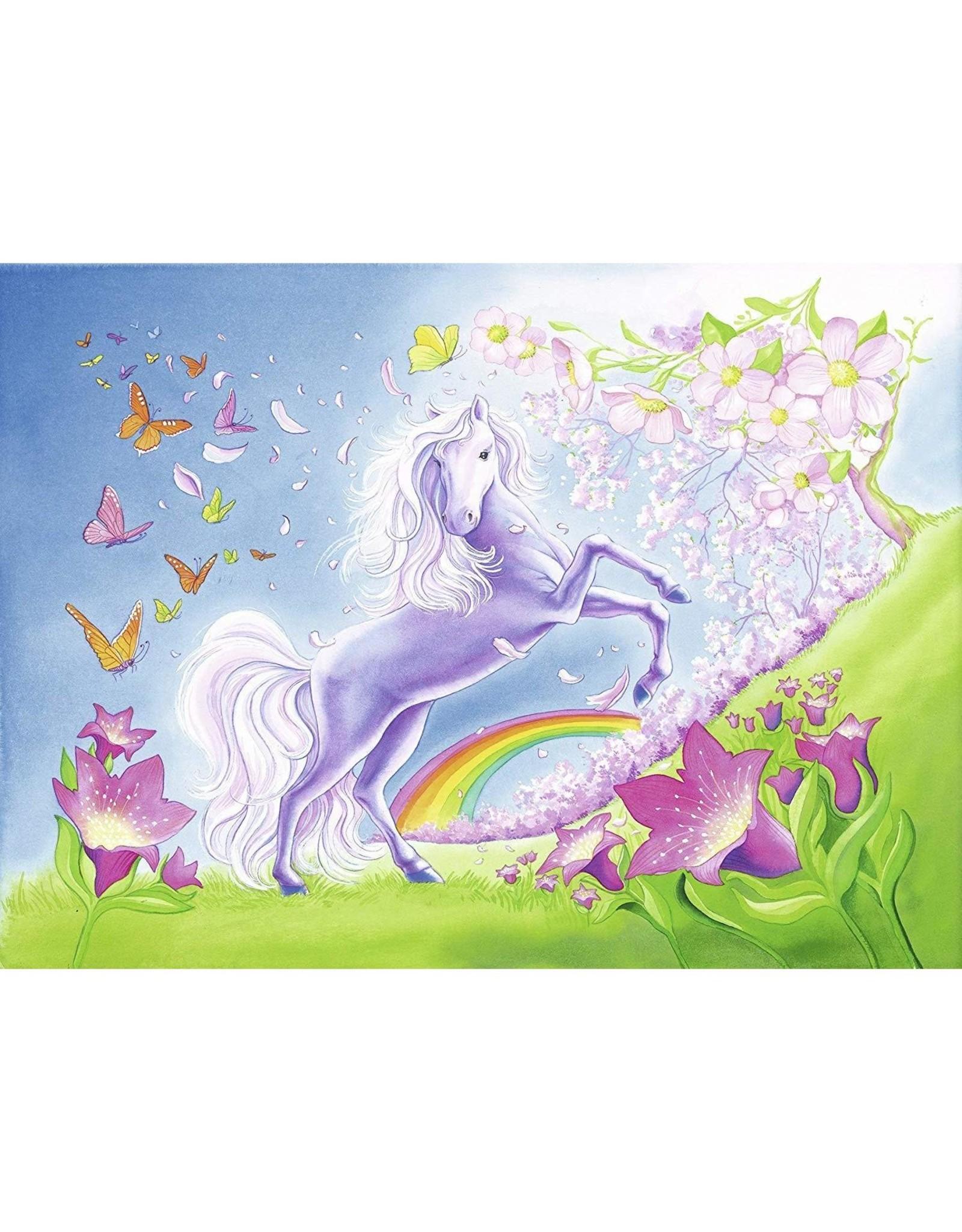 Ravensburger 2x24 pcs. Rainbow Horses Puzzles