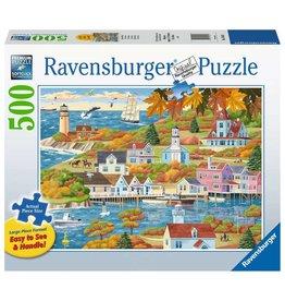 Ravensburger 500 pcs. By Land and Sea Puzzle