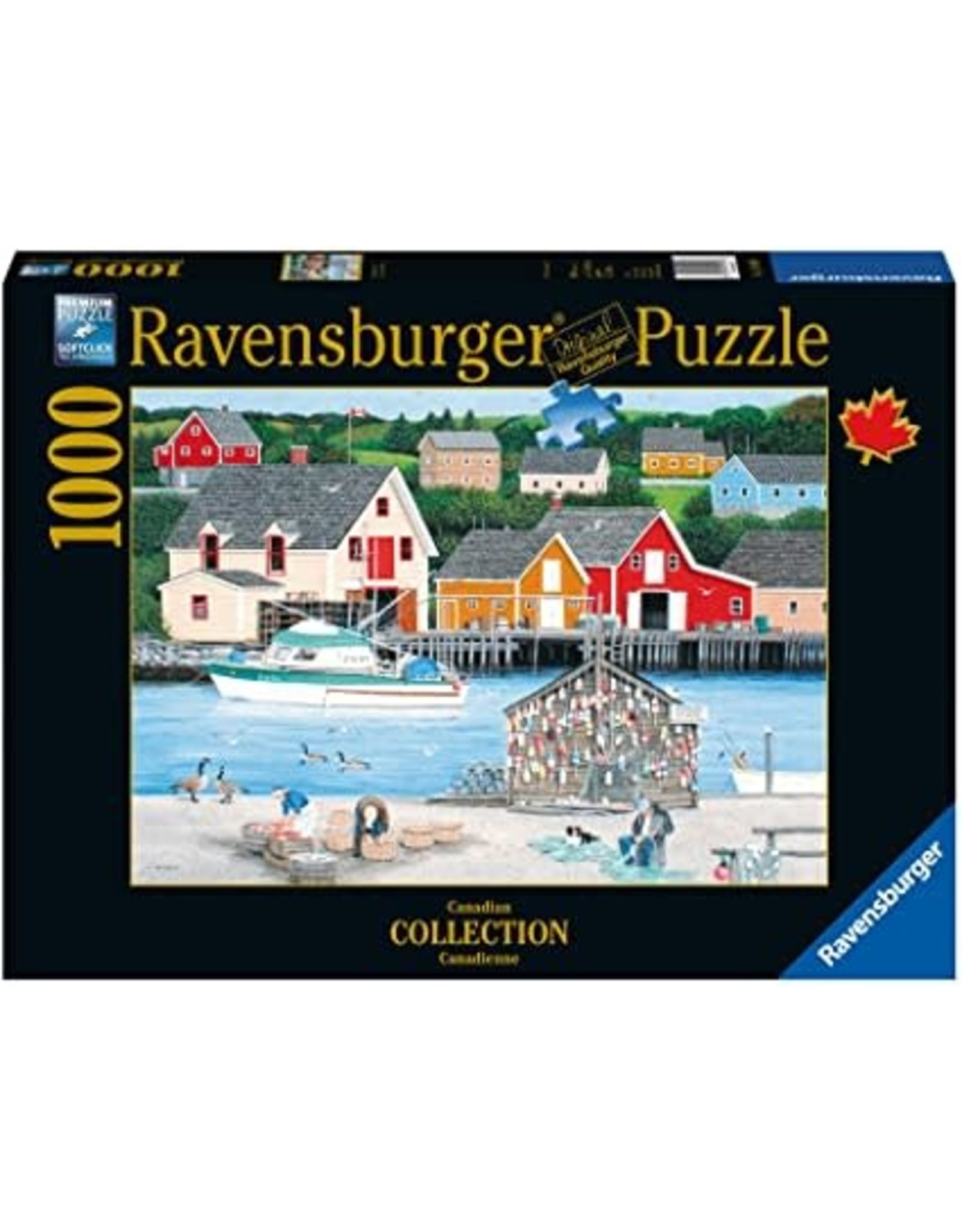 Ravensburger 1000 pcs. Fisherman's Cove Puzzle