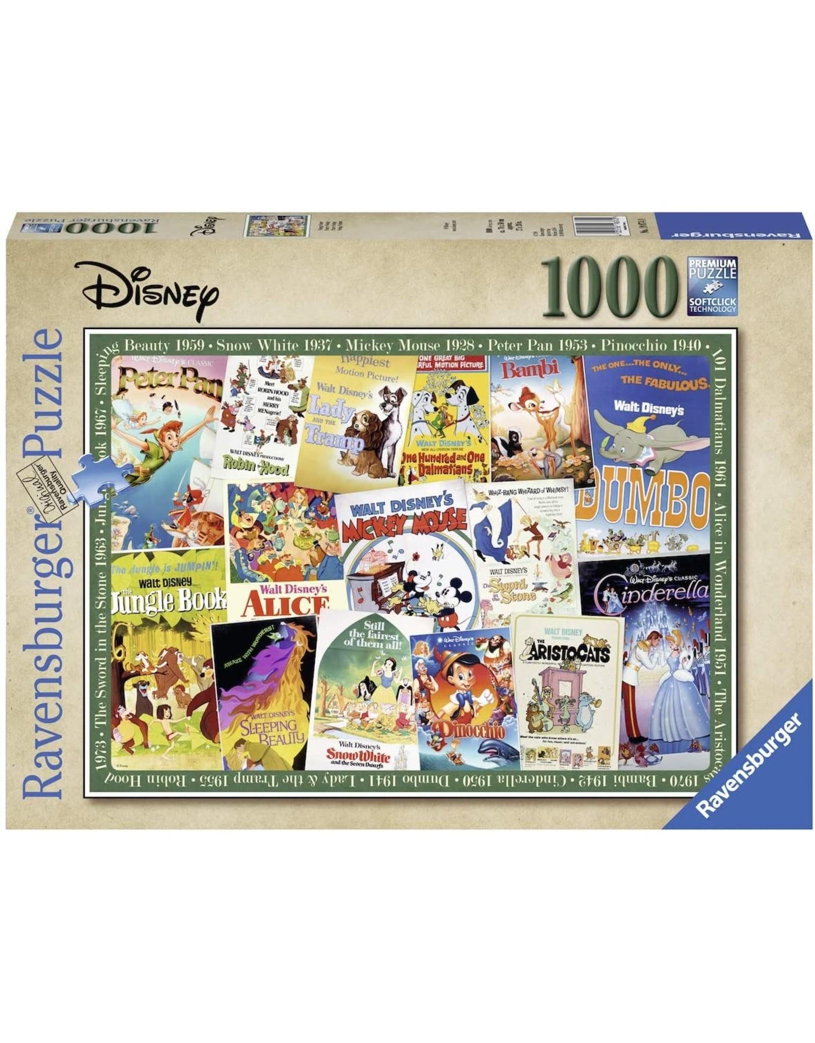 Ravensburger 1000 pcs. Disney Vintage Movies Puzzle