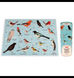 REX London 300 pcs. Puzzle in a Tube, Garden Birds