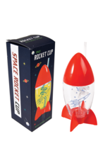 REX London Space Age Rocket Cup and Straw