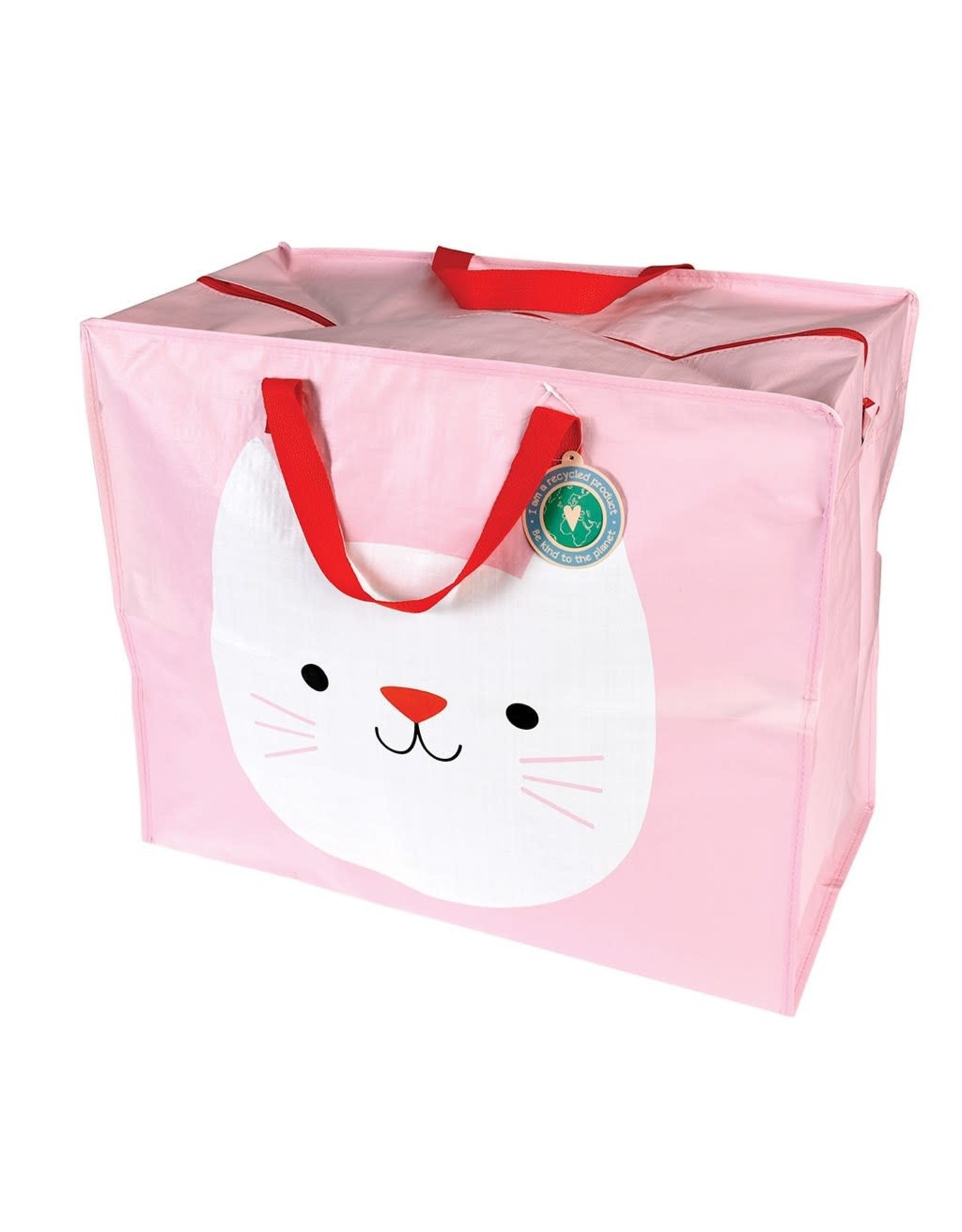 REX London Jumbo Storage Bag, Cookie the Cat