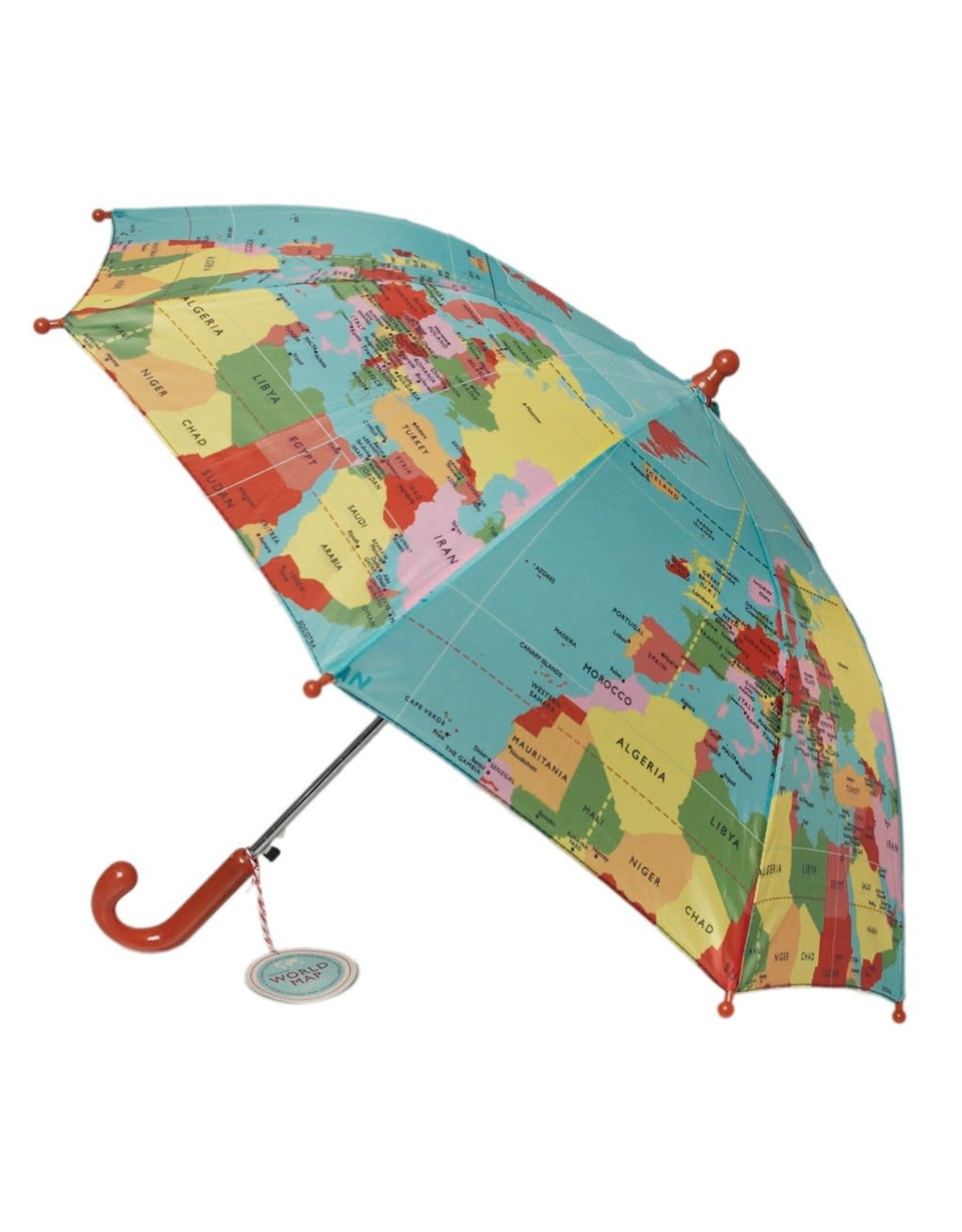 REX London Umbrella, World Map