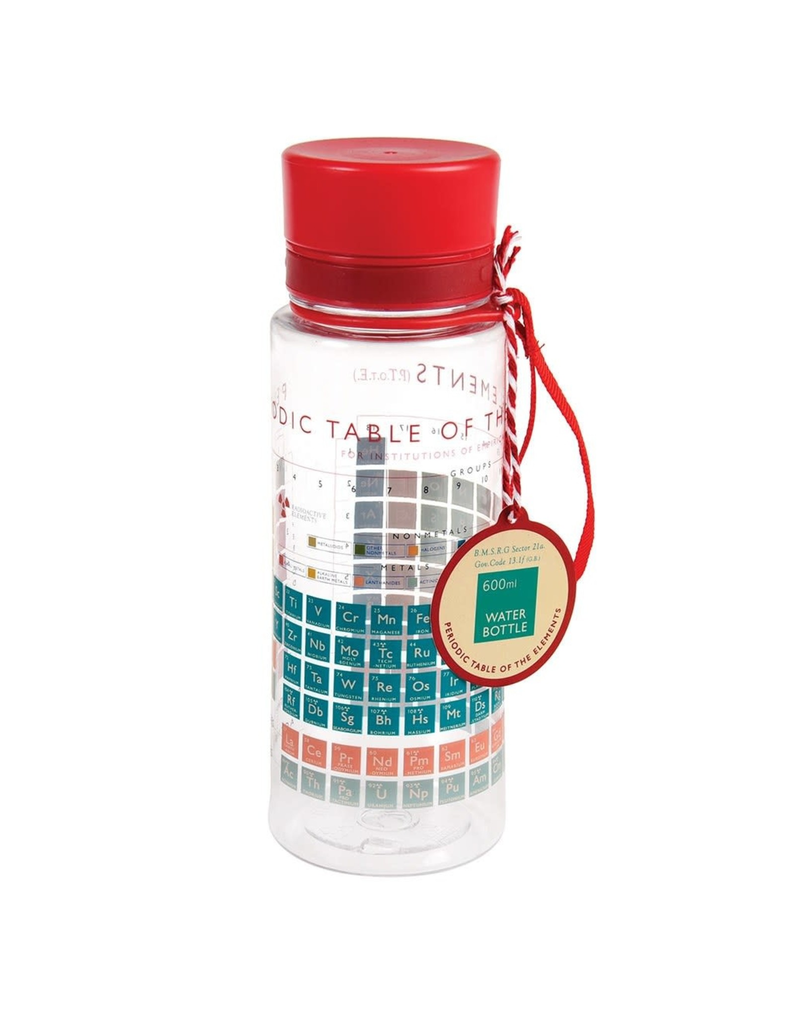 REX London Water Bottle, Periodic Table