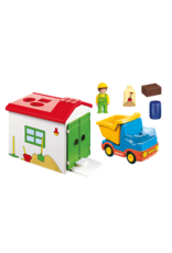 Playmobil 1.2.3 Truck with Garage