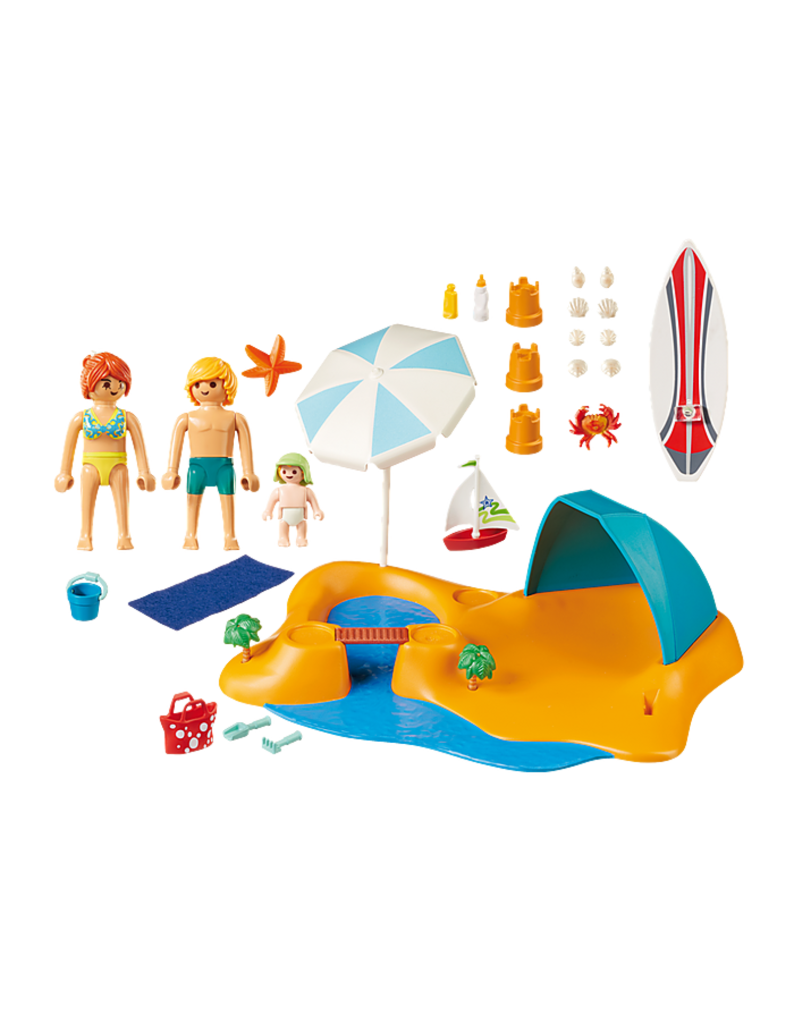 Playmobil Family Beach Day