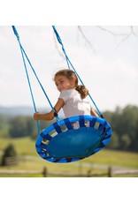 HearthSong ColorBurst Round Platform Tree Swing