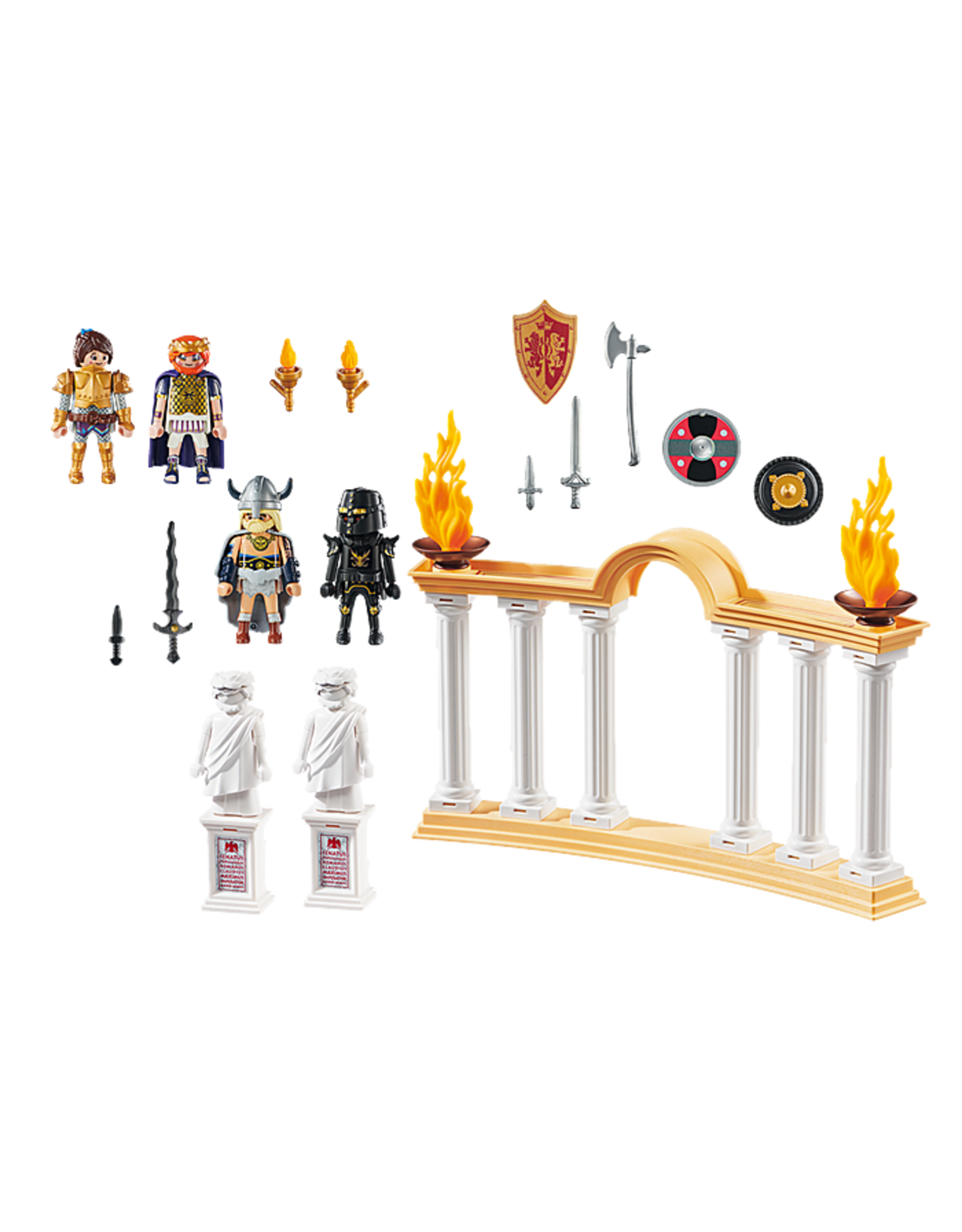 Playmobil PLAYMOBIL THE MOVIE: Emperor Maximus in the Colosseum