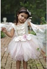 Great Pretenders Golden Rose Fairy Dress, Size 5-6