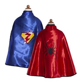 Great Pretenders Reversible Adventure Cape & Mask, Size 5-6