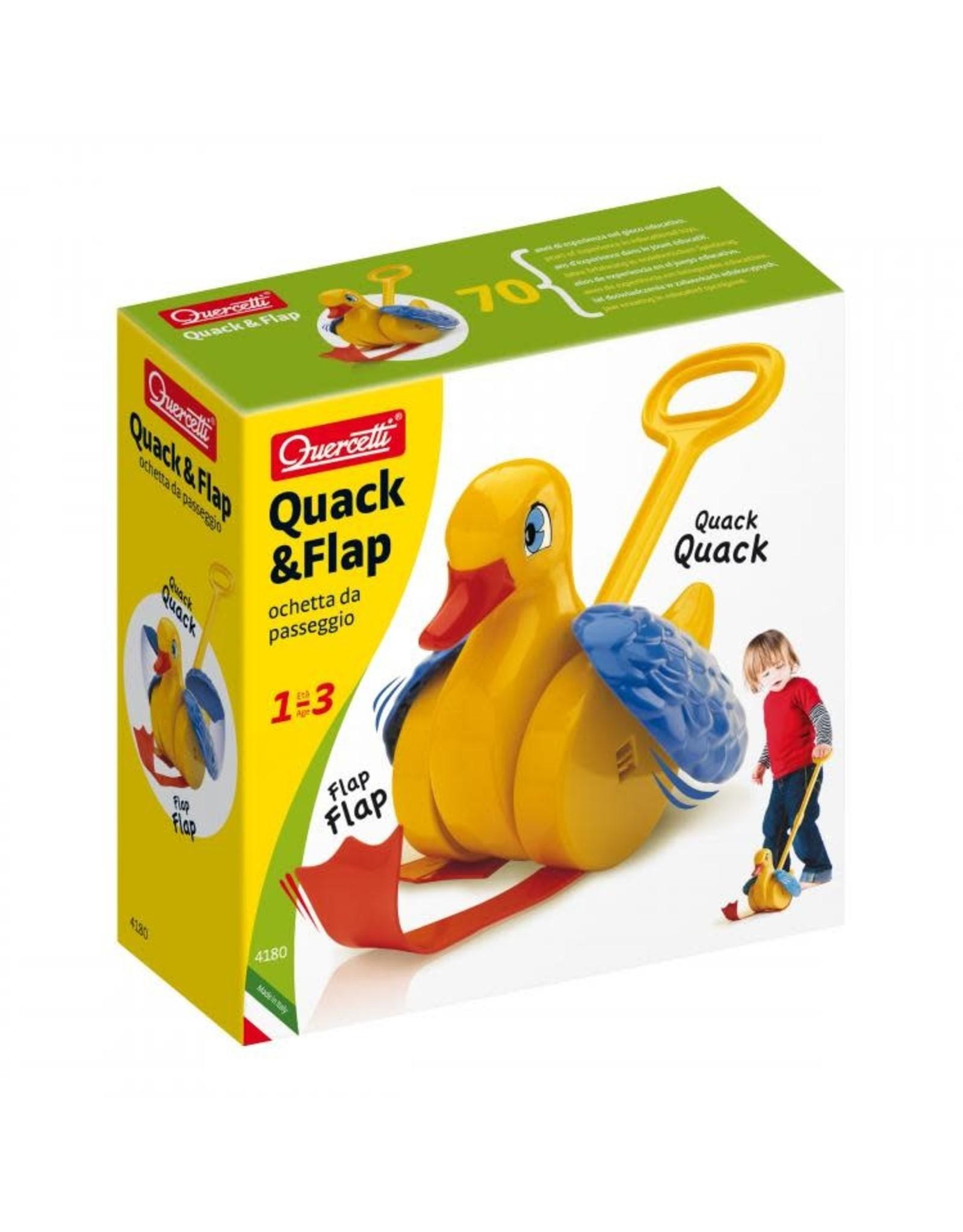 Quercetti | Viking Quercetti Quack & Flap