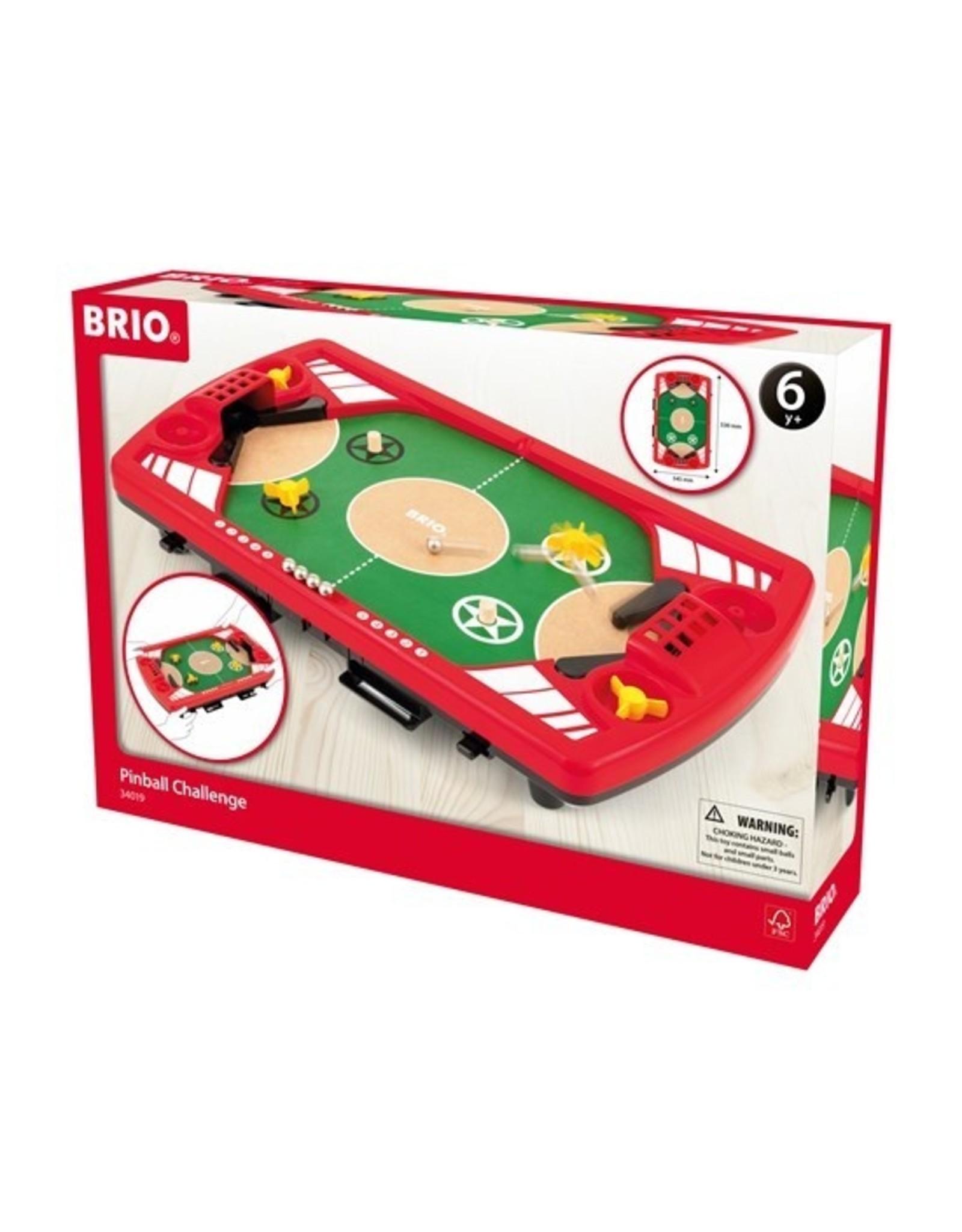 Brio Pinball Challenge