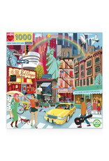 Eeboo 1000 pcs. New York City Life Puzzle