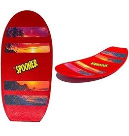"Spooner Inc. Spooner Board Freestyle Red 24"""