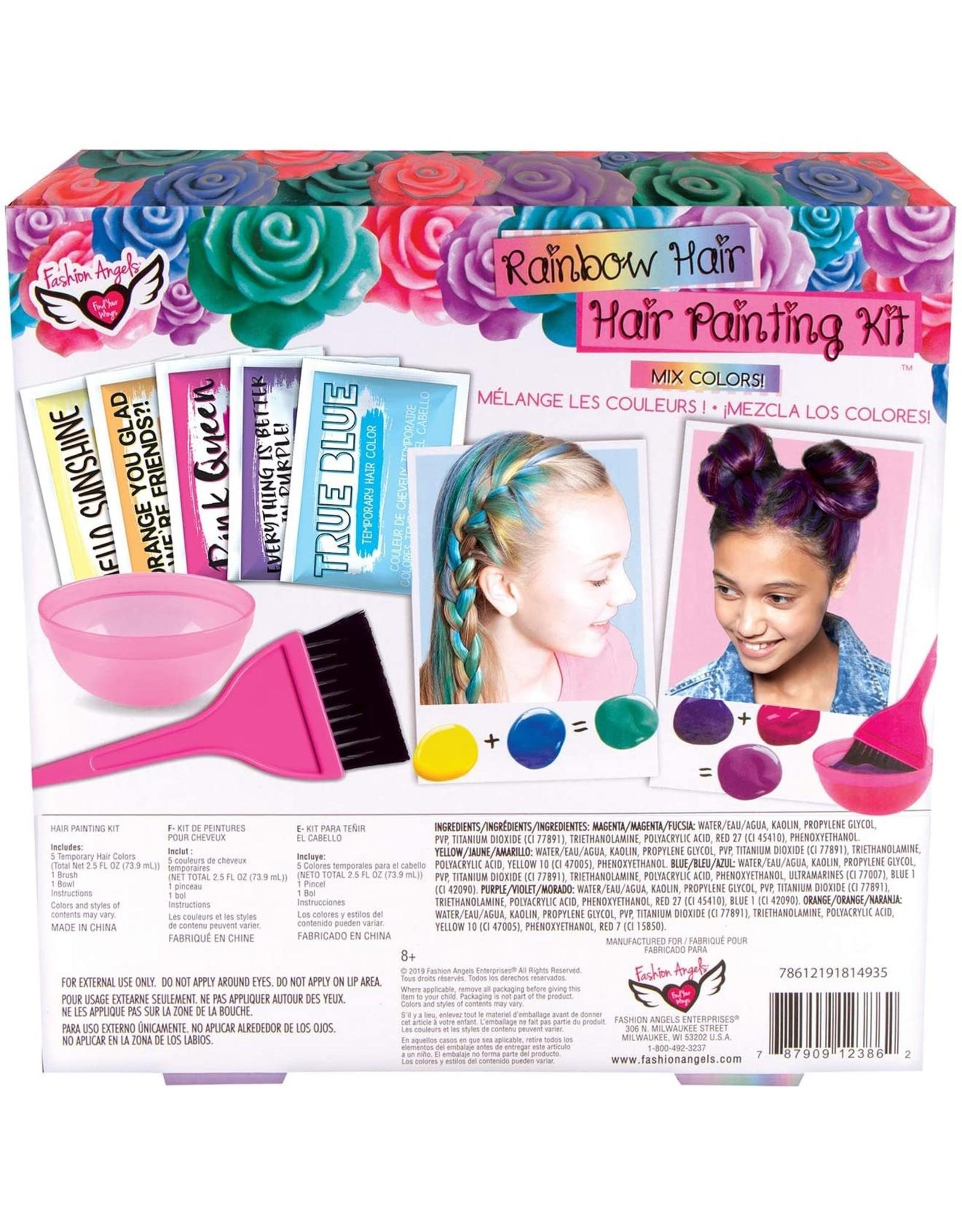 Fashion Angels Rainbow Hair, Hair Painting Kit