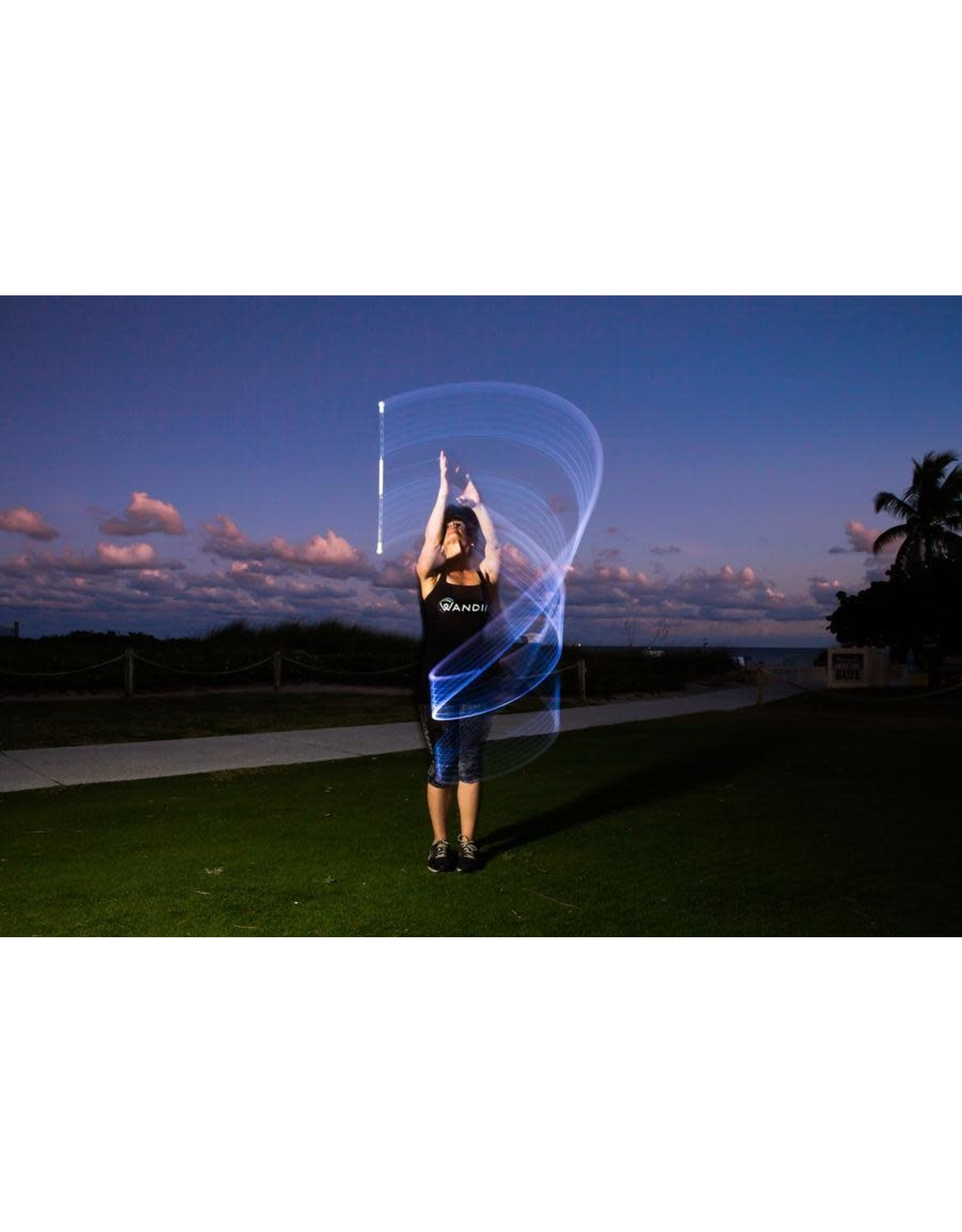 Fun in Motion Toys Wandini, Magic LED Levitation Wand