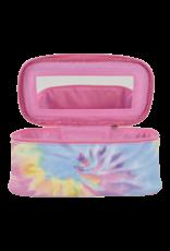 Iscream Tie Dye Selfcare, Pastel Tie Dye Cosmetic Case