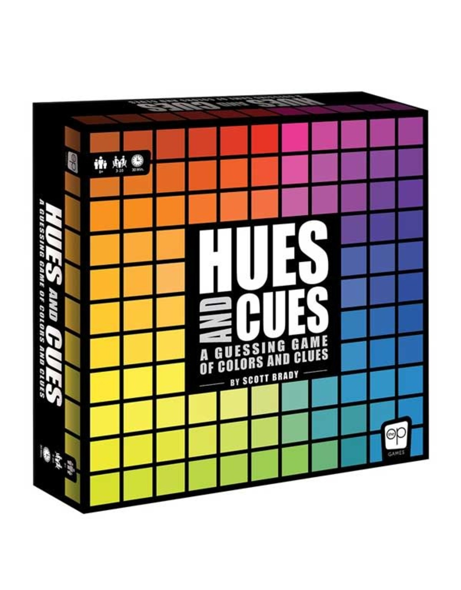 USAopoly Hues and Cues Board Game